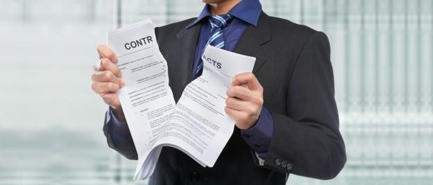 Односторонний отказ  от выполнения контракта. Как не допустить расторжение контракта по 44-ФЗ по инициативе госзаказчика?