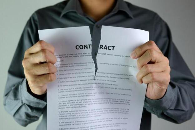 44-ФЗ односторонний отказ от исполнения контракта Основания для расторжения контракта в одностороннем порядке.
