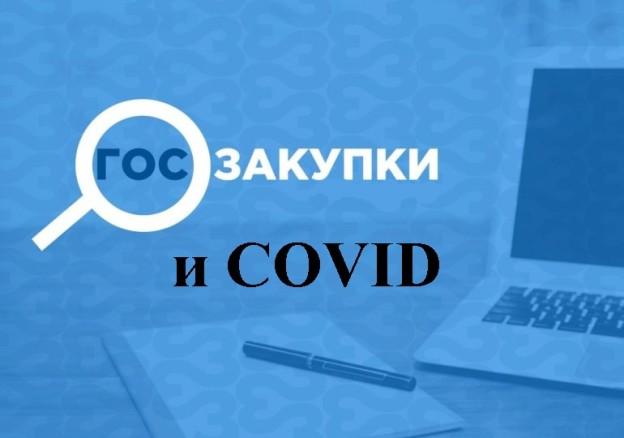 госзакупки и COVID, фото